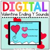 Valentine Ending Y Long and Short Sounds Digital Activity