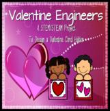 Valentine Engineers: Design Your Valentine Card Holder: STEAM