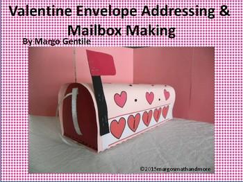 Valentine Sending Life Skills & Mailbox Making