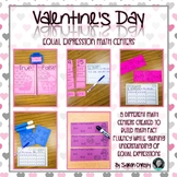 Valentine Equal Expression Centers
