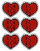 Valentine Equivalent Fractions Activity