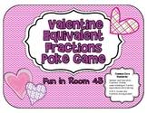 Valentine Equivalent Fractions Poke Game