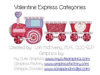 Valentine Express Categories