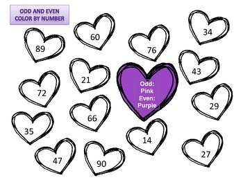 Valentine Extra Fun Practice - Synonyms & Antonyms and Odd and Even Numbers