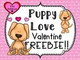Valentine FREEBIE!  Puppy Love
