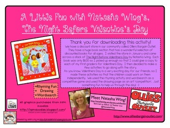 The Night Before Valentine's Day!~FREEBIE!
