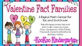 Valentine Fact Families-A Digital Math Center (Compatible
