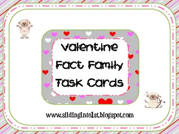 Valentine Fact Family Cards