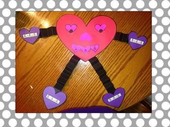 Valentine Fact Family Craftivity