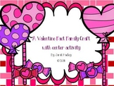 Valentine Fact Family Craftivity