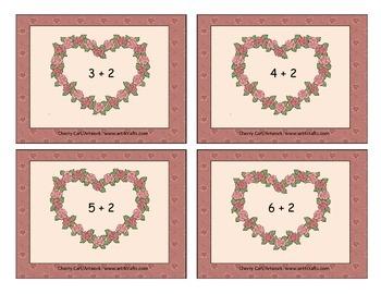 Valentine Fast Facts: Addition Math Center