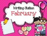 February Writing Station