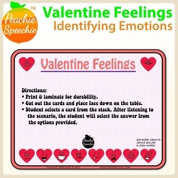 Valentine Feelings: Identifying Emotions