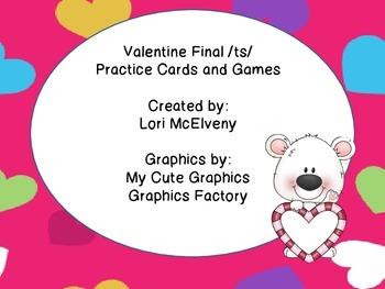 Valentine Final /ts/ Practice
