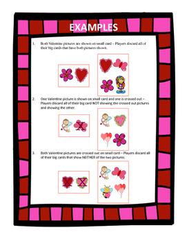 Valentine Find ~ Verbal Expression, Visual Discrim, Matching {FREEBIE}