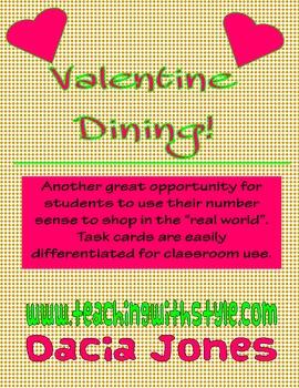 Valentine Fine Dining Math