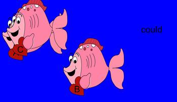 Valentine First Grade Fish Sight Words
