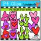 Valentine Fish Bowl (P4 Clips Trioriginals) VALENTINE'S DAY CLIPART