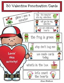 "Valentine ""Fix The Sentence Cards"""