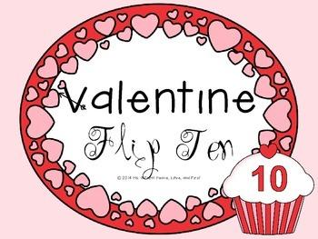 Valentine's Day Making Ten Game