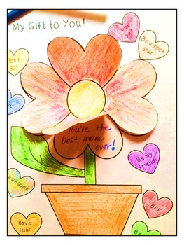 Valentine Flower Glyph and Craft