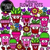 Valentine Flower Pots: Valentine Clipart {Creative Clips Clipart}