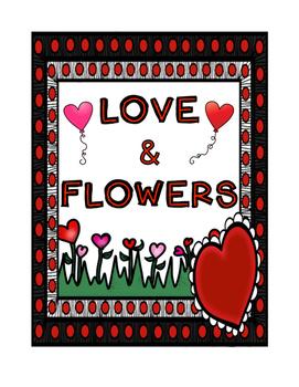 Valentine Flower Shop Dramatic Play Set!