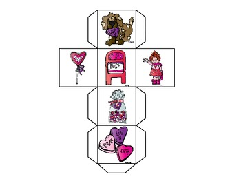 Valentine Fluency Practice {Letter Naming and Sound Fluency}