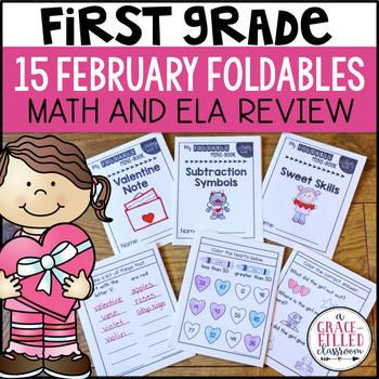 Valentine Foldable Mini-Books {1st Grade}