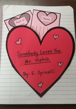 Valentine Foldable for Interactive Journals Freebie
