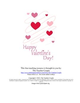 Valentine Form Letter