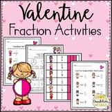 Valentine Fraction Activities