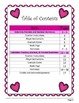 Valentine Fraction, Decimal, and Percent Dominoes