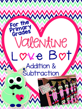 Valentine Math Craftivity--PRIMARY Grades