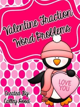 Valentine Fraction Word Problems