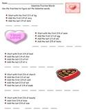 Valentine Fraction Words