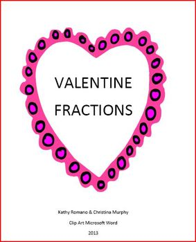 Valentine Fractions Quick Check