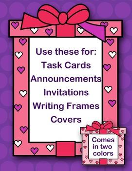 Valentine Frames Clipart