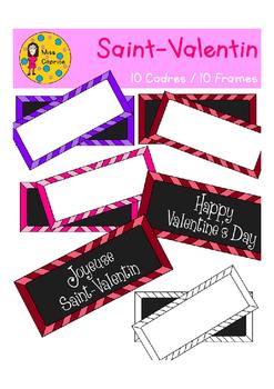 Valentine Frames - Cadres de la Saint-Valentin