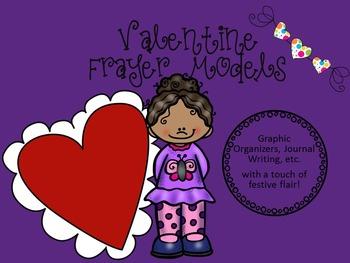 Valentine Frayer Models/Graphic Organizers