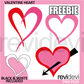 Valentine Free Clipart - Valentine's day heart clip art