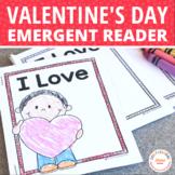 Valentine's Day Free Activity | Valentine's Day love sight word book
