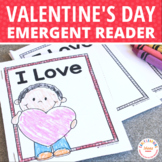 Valentine's Day Emergent Reader Freebie: I love