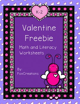 Valentine Freebie Print and Go!