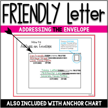 Friendly Letter Templates Valentine Version by Carrie Lutz  TpT