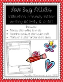 Valentine Friendly Letter and Craftivity