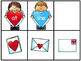 Valentine Friends Fry's First 50 Sight Word Game