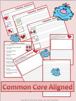 FEBRUARY LITERACY! Valentine Friends Language Arts Activities