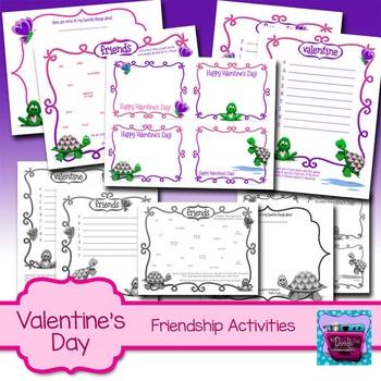 Valentine's Day Friendship Activities