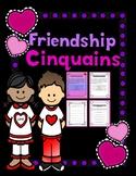 Valentine Friendship Cinquains
